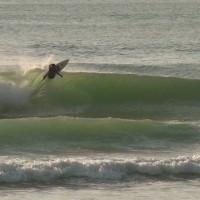 quelques vagues entre deux cours de surf - cap ferret