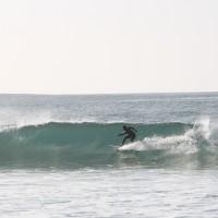 le surf backside tout en puissance de Fred