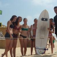 "Fred, moniteur ""don juan"" de l'ESCF Ecole de Surf du Cap Ferret"