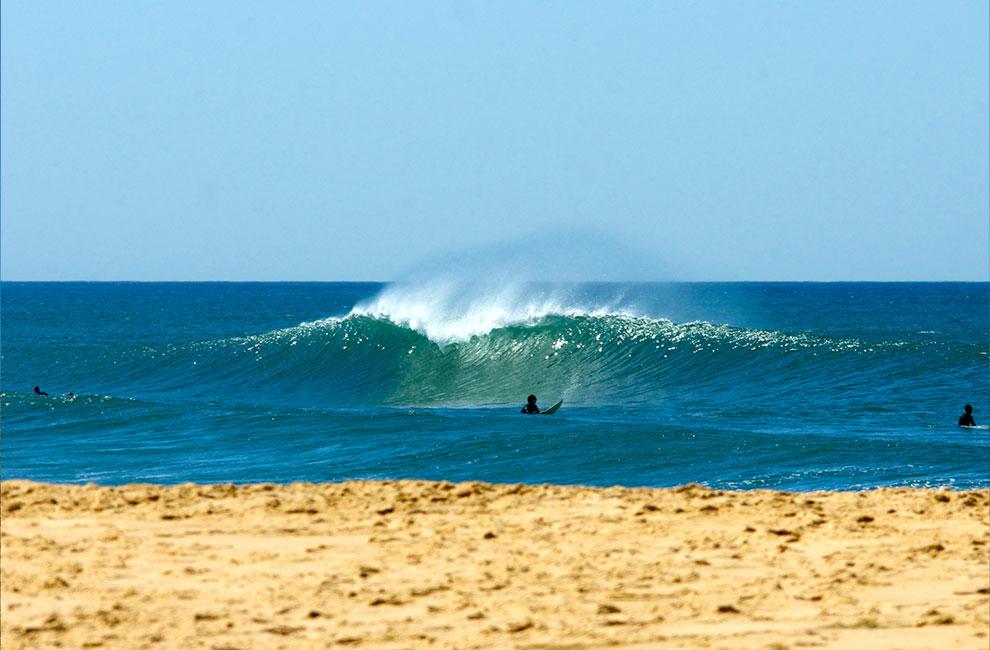 surf plage de la garonne au cap ferret