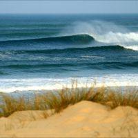 belles vagues dunes plage truc vert