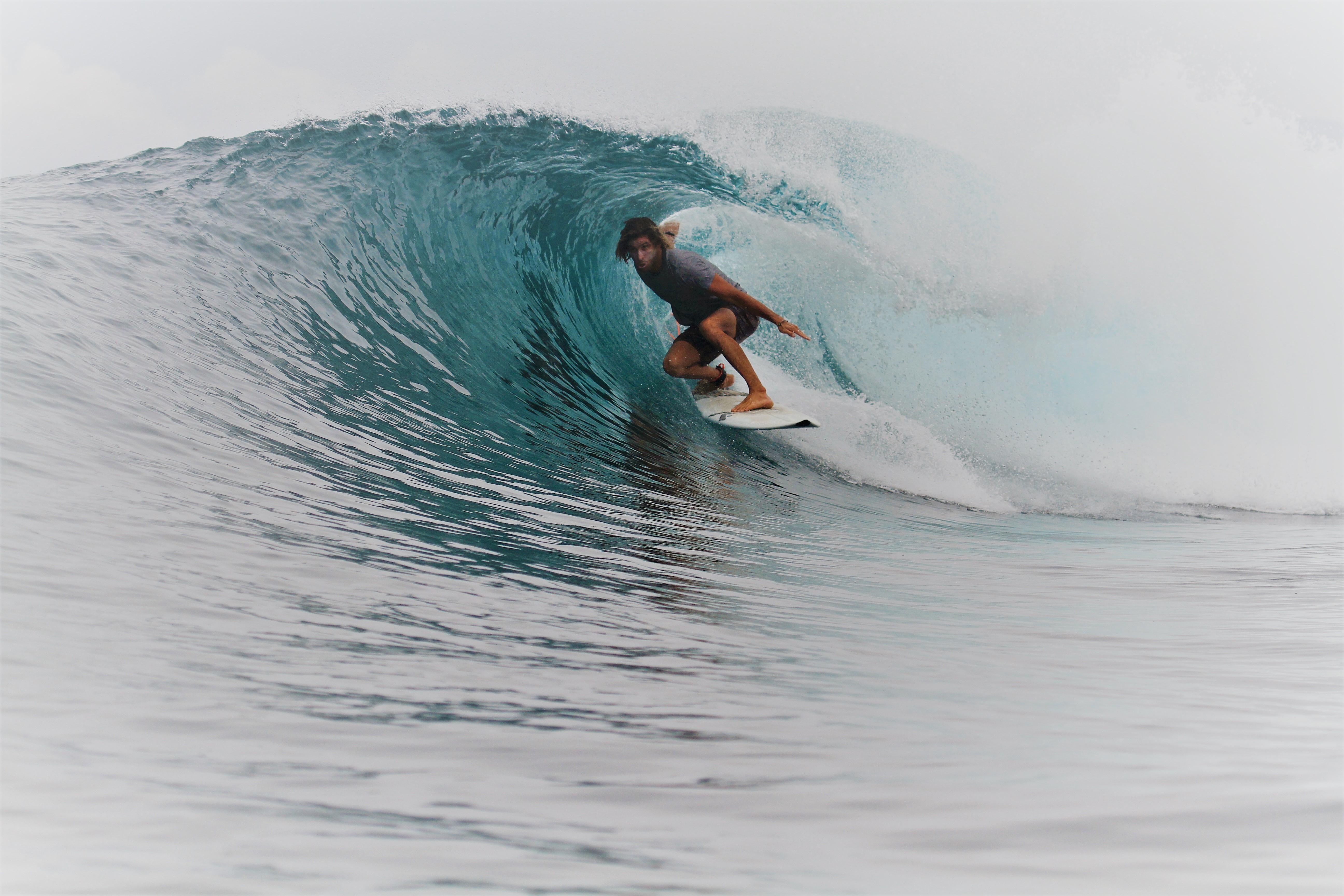 Manu prof de surf tube